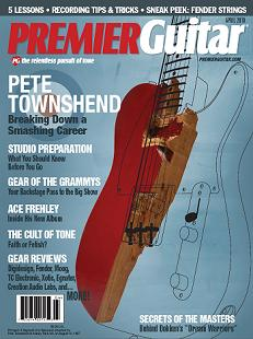 Premier  Guitar Magazine April 2010