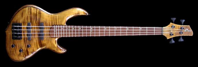 william jeffrey jones guitars 4 string short scale bass. Black Bedroom Furniture Sets. Home Design Ideas